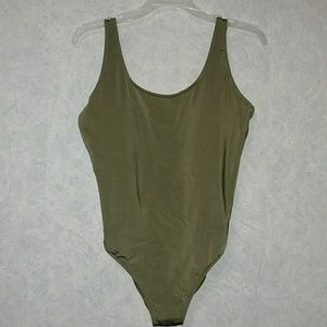 NWT Abercrombie & Fitch one piece swimsuit LARGE